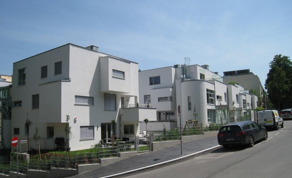 Neubau Wohnhausanlage in Wien von Kager Bau mit Architekten