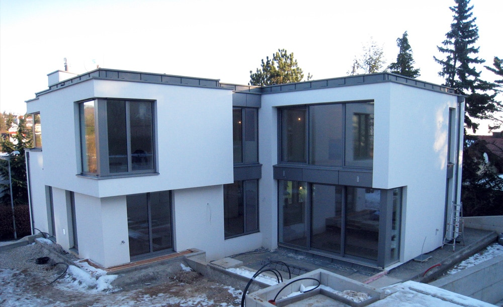 Moderner Neubau Wien