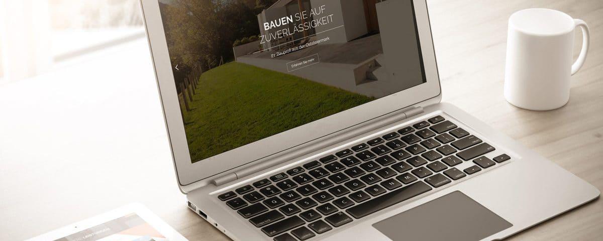 Website Kager Bau