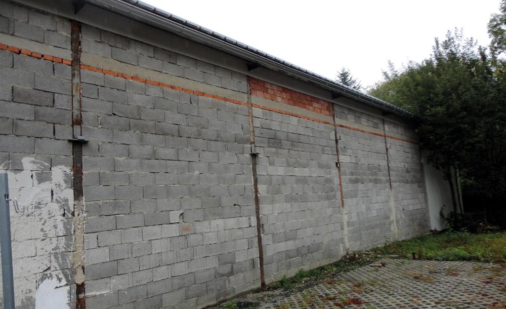 Sanierung einer Werkstatt in Hartberg 2016