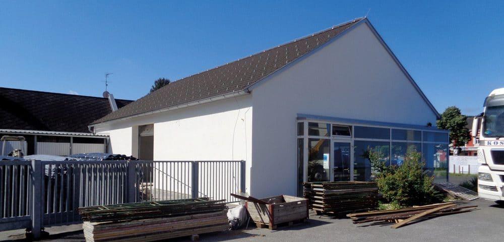 Sanierung einer Wekstätte in Bad Waltersdorf 2016
