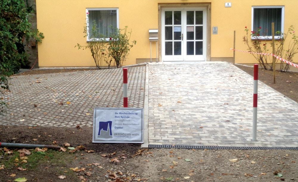 Vorplatzgestaltung in Wien