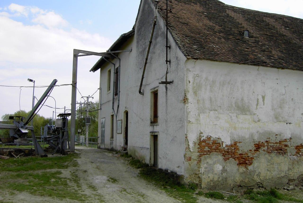 Kraftwerk Pornoapati vor dem Umbau