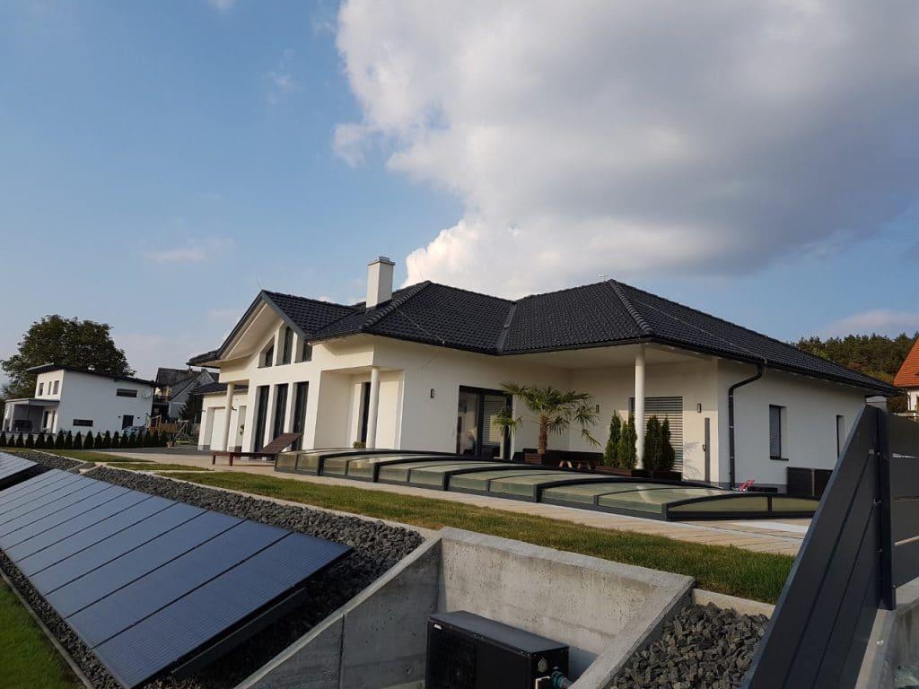 Neubau eines bungalows von kager massivbau for Neubau einfamilienhaus