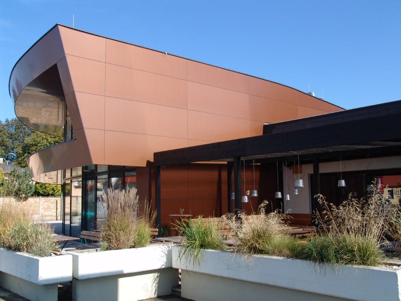 Neubau von einem Kulturhaus in Eibesbrunn
