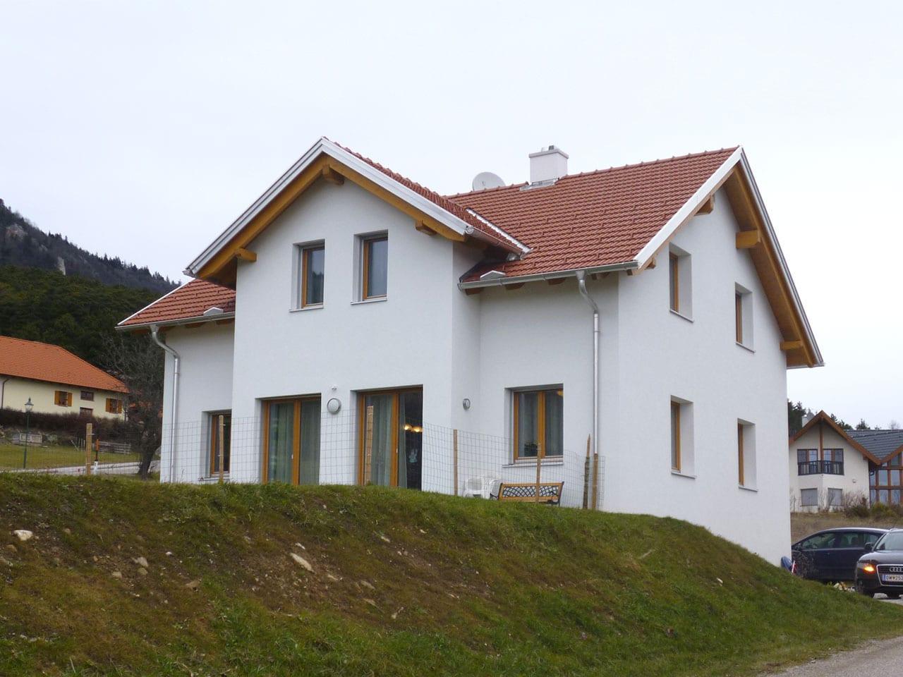 Neubau Einfamilienhaus von der Baufirma aus der Steiermark