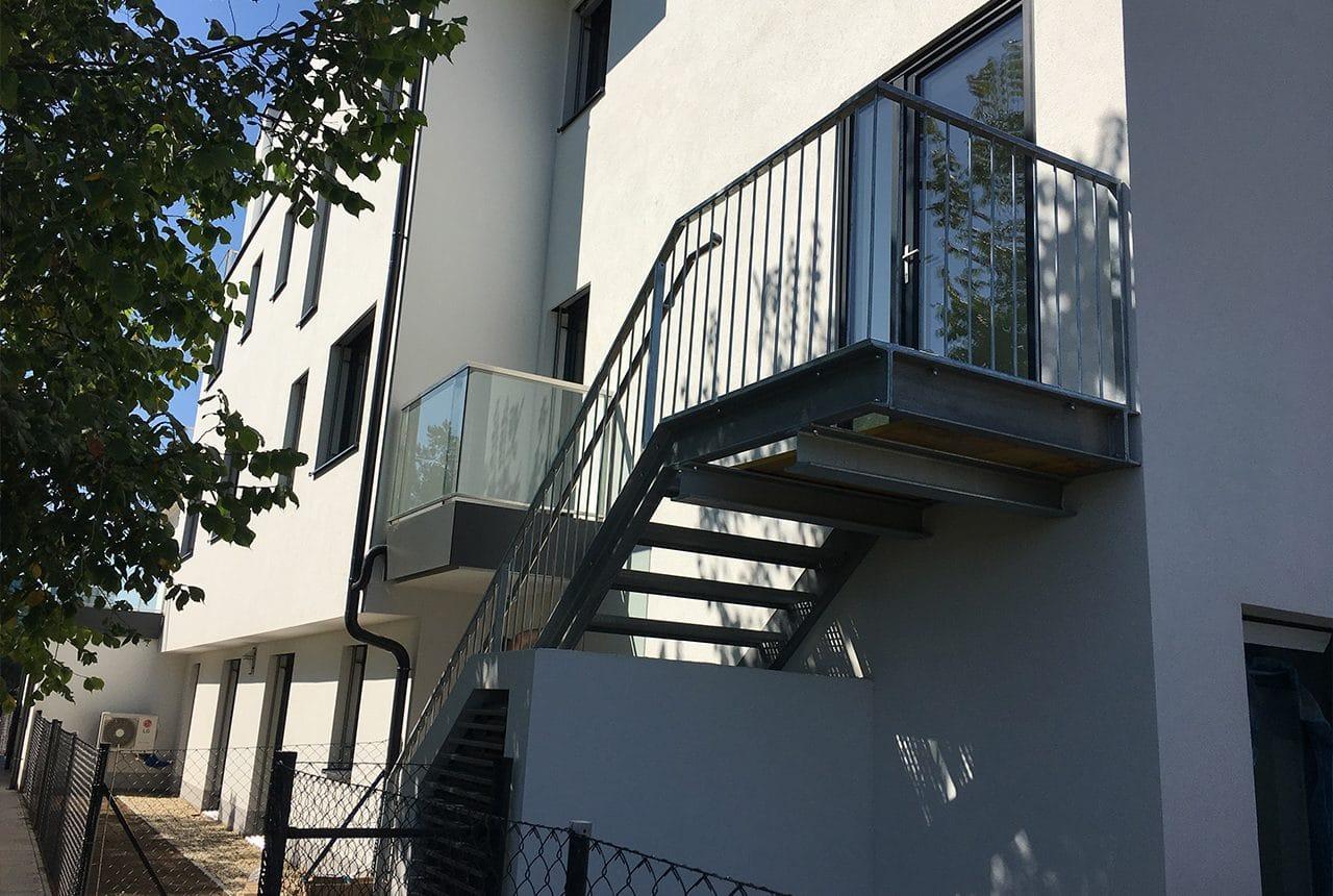 Neubau einer Wohnhausanlage - Baufirma