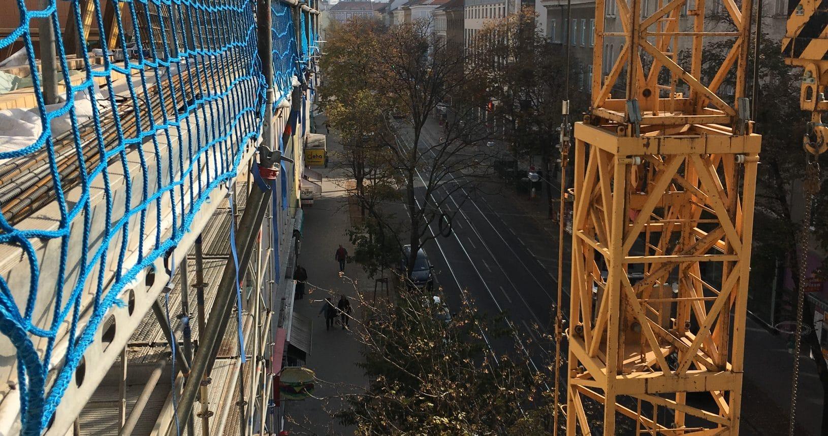 Umbau in Klosterneuburgerstraße