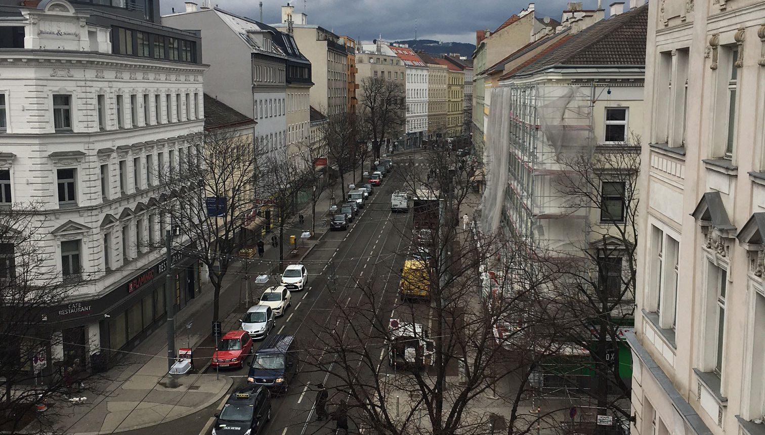 Zbau in der Klosterneuburgerstraße: Modern trifft Altbau