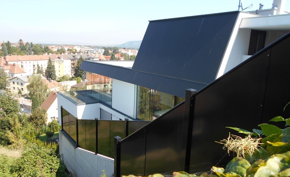 Moderner Neubau Massiv