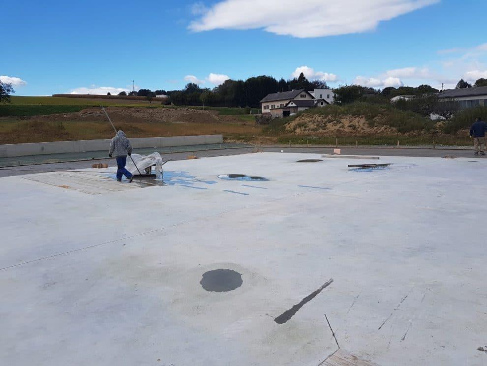 Bau eines Betriebsgebäudes von Kager Bau