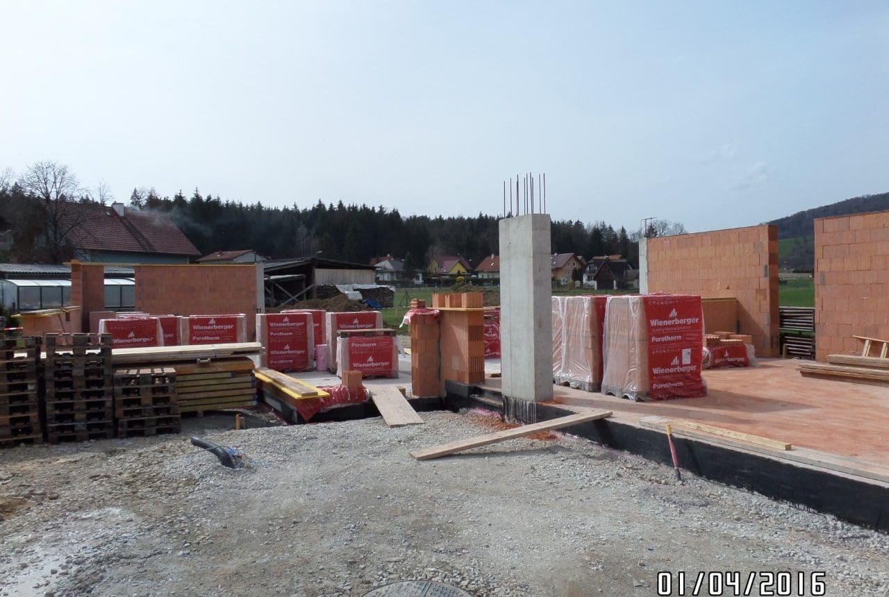 Bau eines Einfamilienhauses von Kager Bau