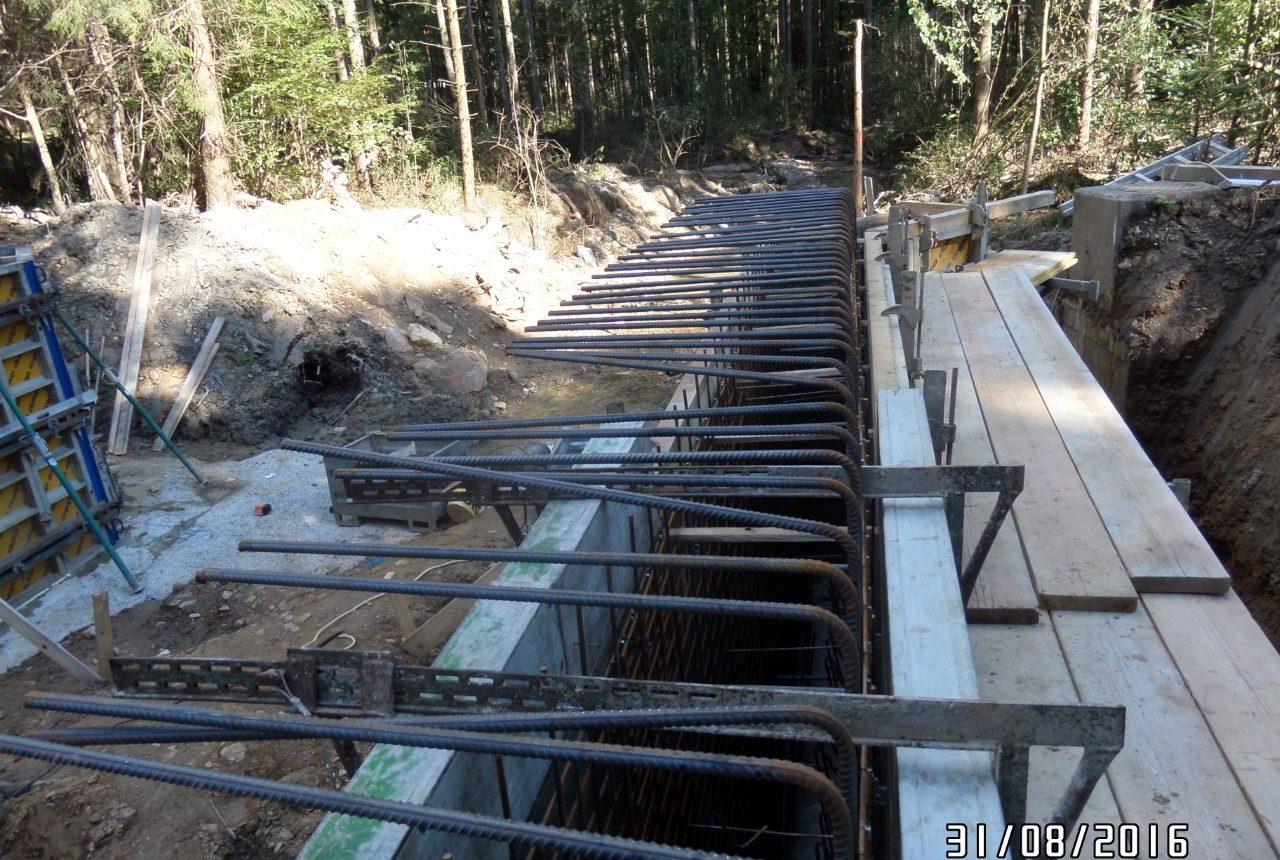 Brückensanierung in Vorau von Kager bau