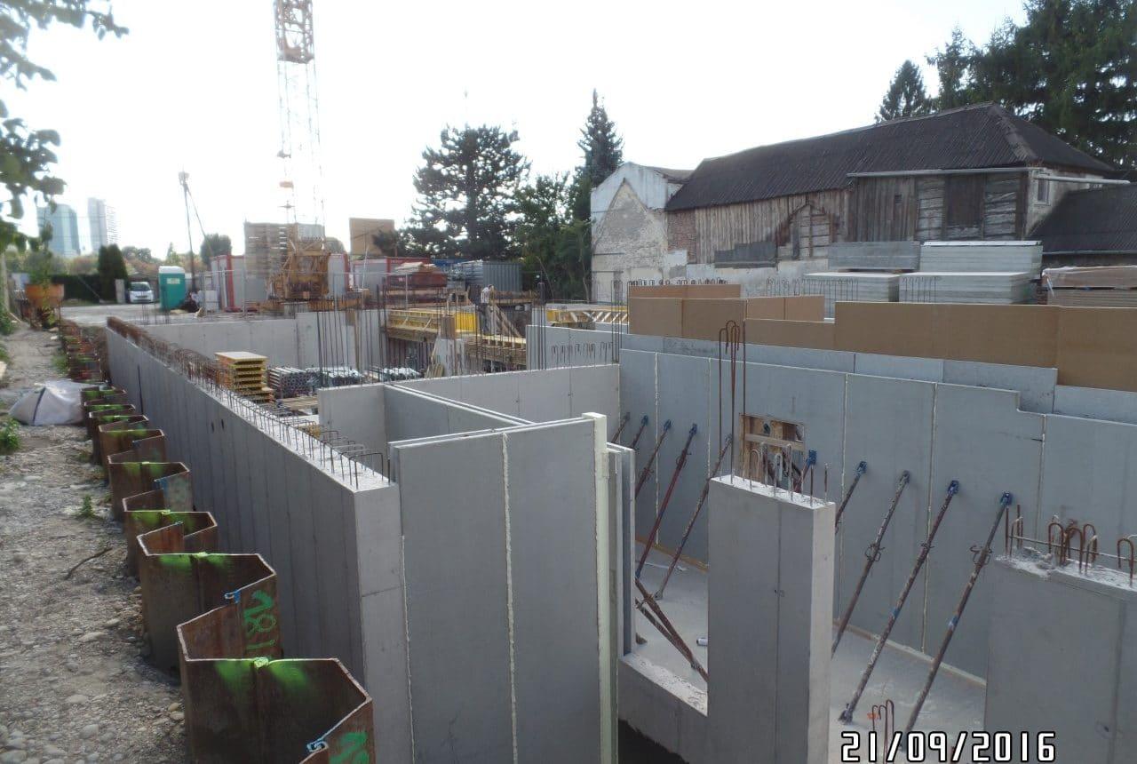 Neubau einer Wohnhausanlage in Wien von Kager Bau