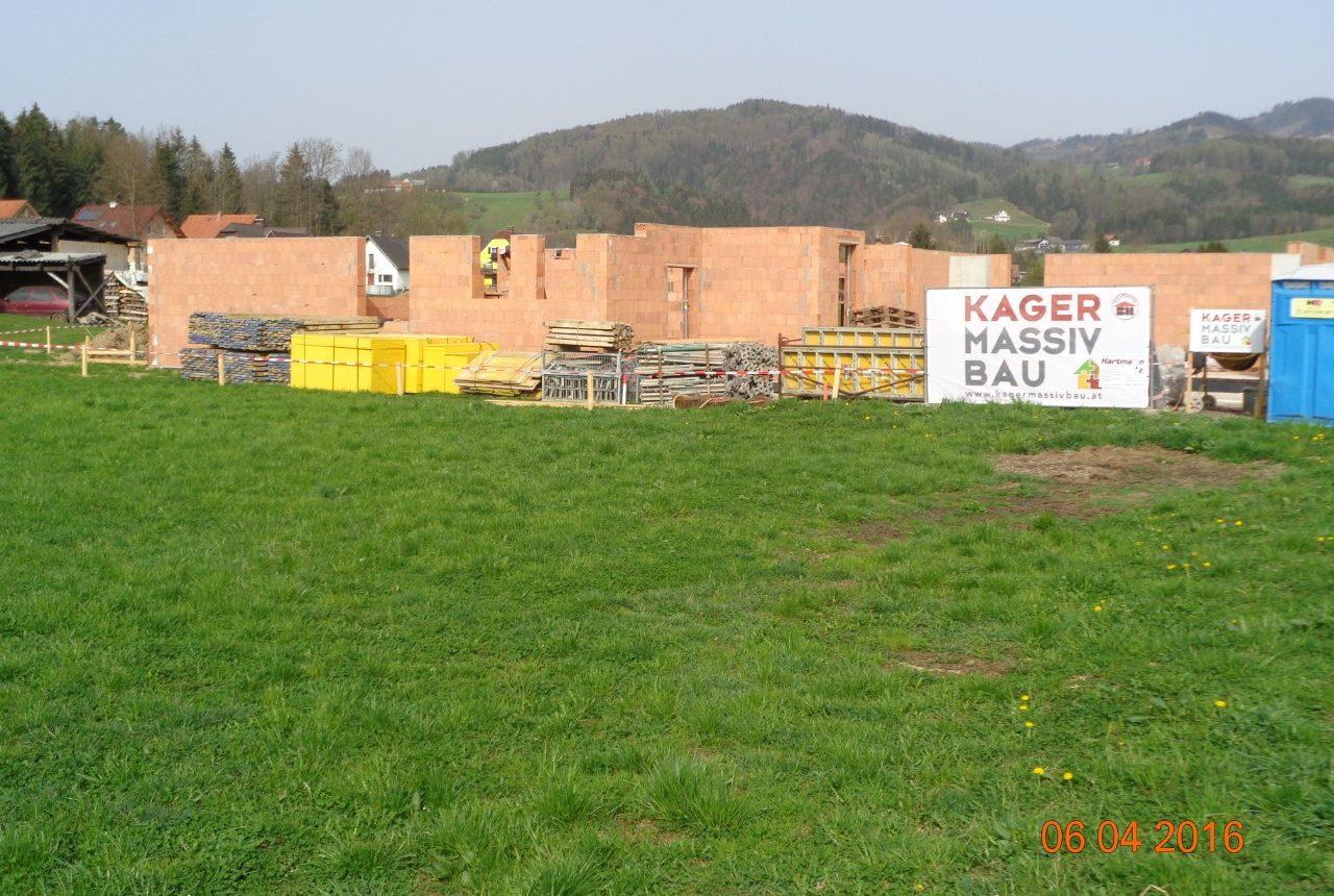 Rohbau von Einfamilienhaus in Graz von Kager bau