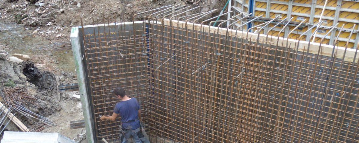 Sanierung einer Brücke in Vorau von Kager Massivbau