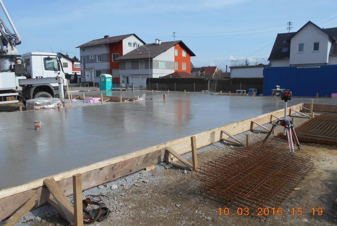 Bau einer Wohnhausanlage Bau von Wohnungen in Weiz