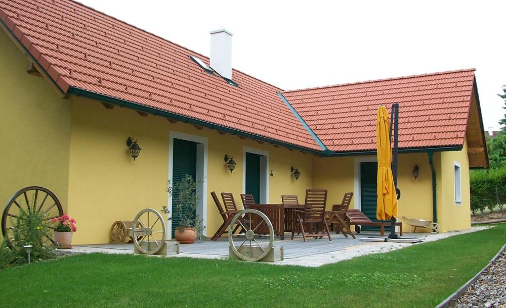 Zubau in Pöllau mit Terrasse