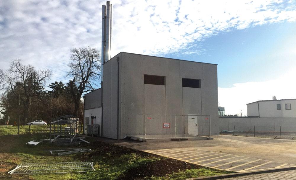 Erweiterung der Nahwärme in Vösendorf 2015