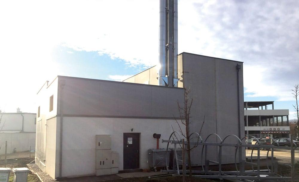 Zubau Nahwärme in Vösendorf 2015