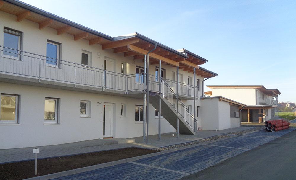 Neubau Wohnhausanlage in Hartberg