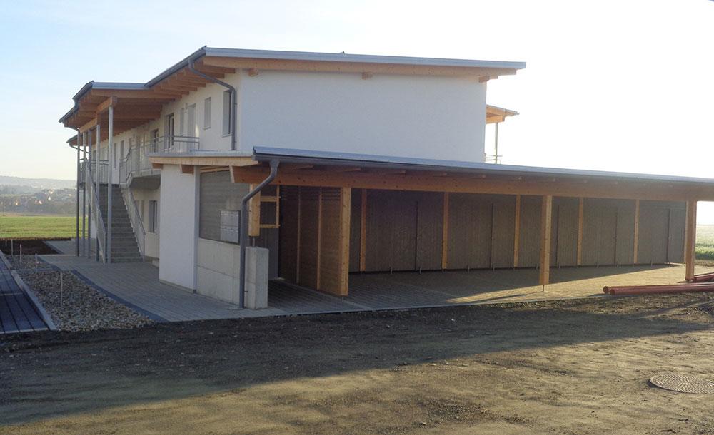 Neubau Wohnhausanlage in Hartberg - Garagen