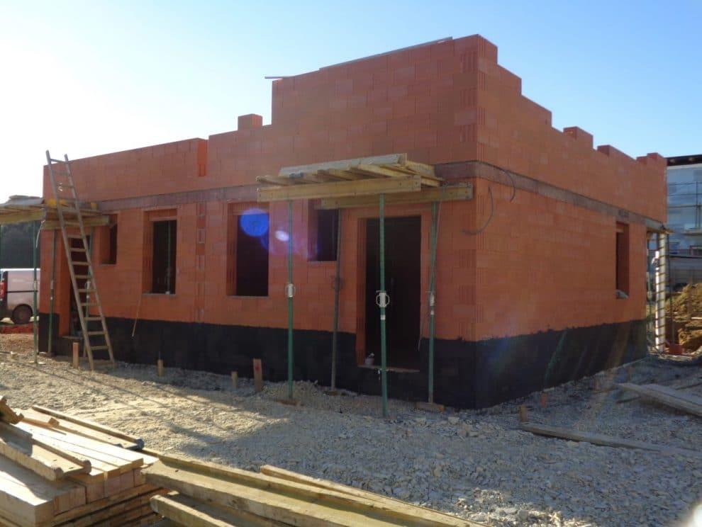 Neubau Rohbau Doppelwohnhaus von Kager Bau