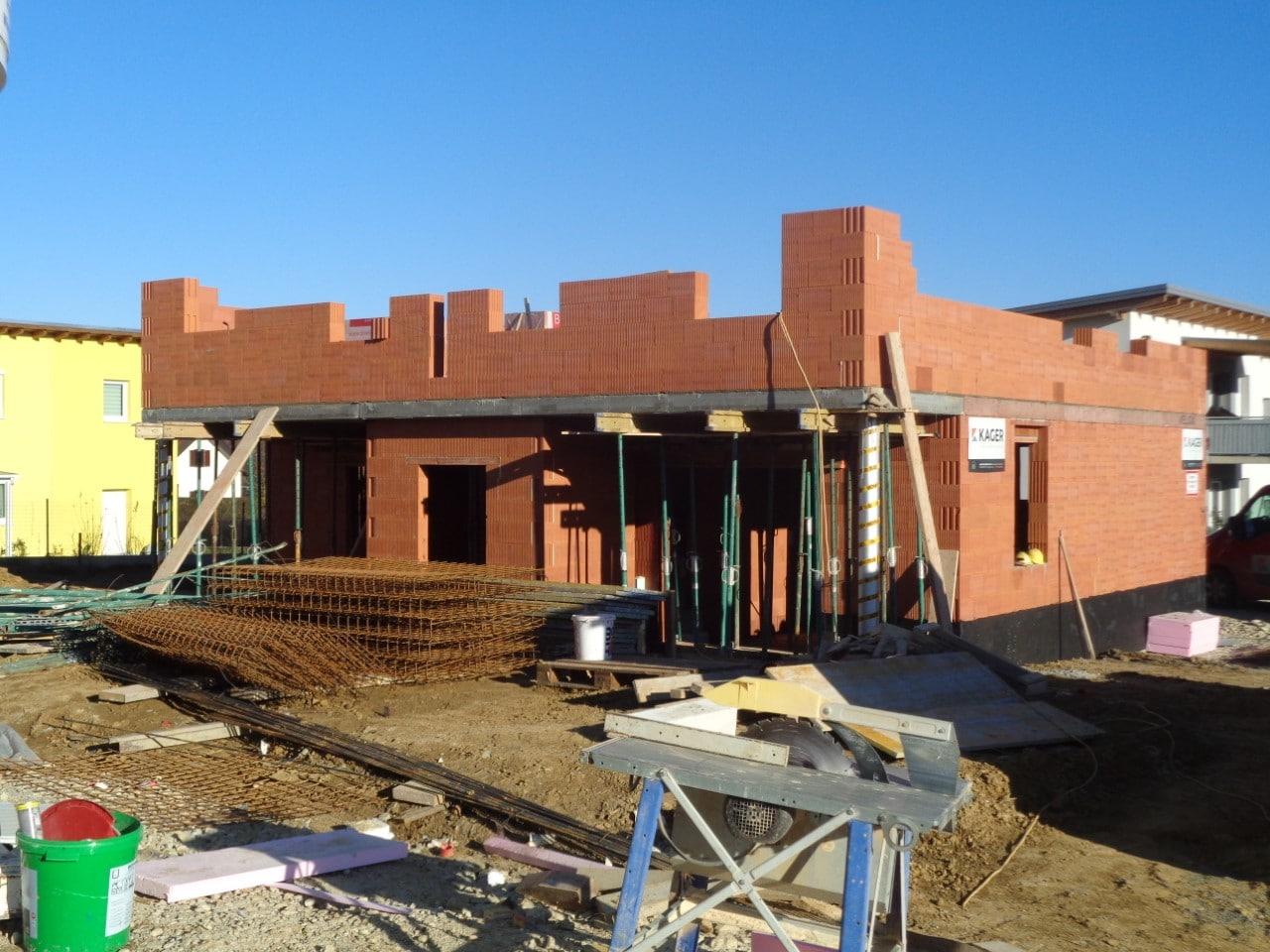 Neubau Doppelwohnhaus in Hartberg dank der Neubau-Baufirma Kager Bau