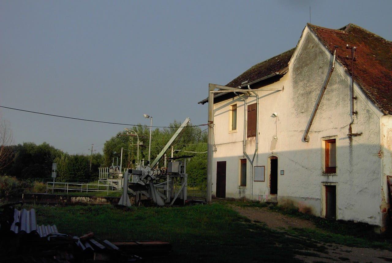 Kraftwerk Pornoapati in Ungarn vor dem Umbau