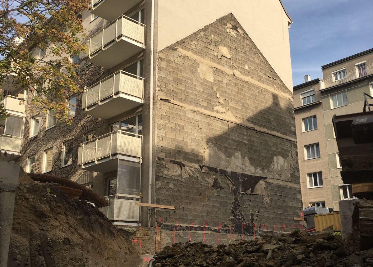 Lückenverbau von Wohnhaus in Wien