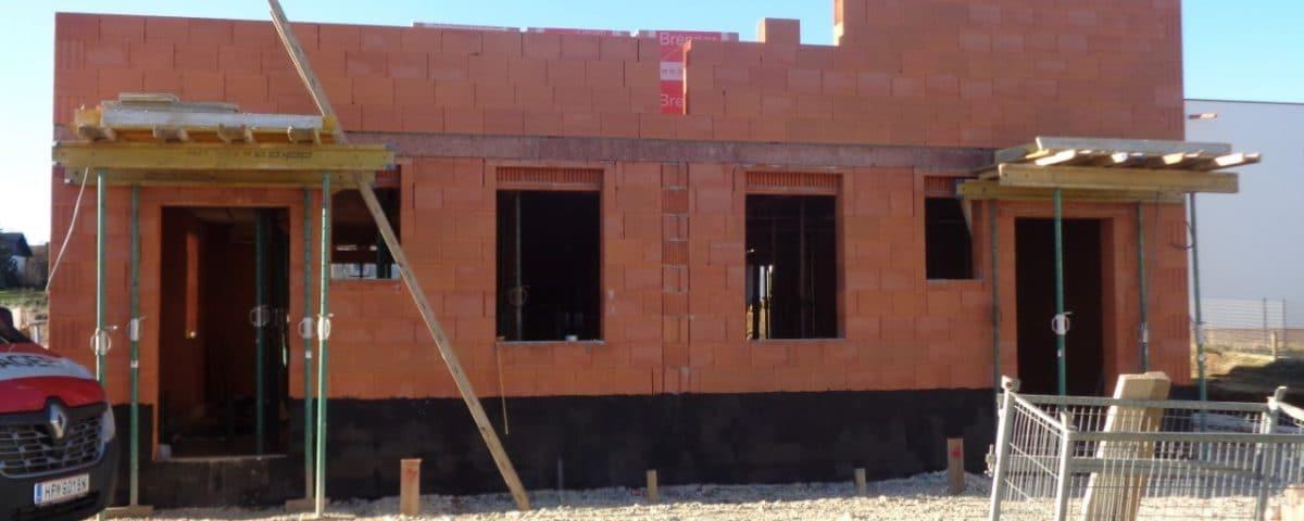 Neubau/Rohbau von einem Doppelwohnhaus in Hartberg