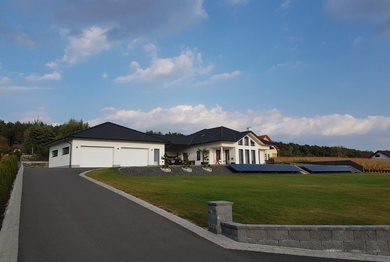 Neubau von einem Einfamilienhaus in Unterrohr, Massivbau