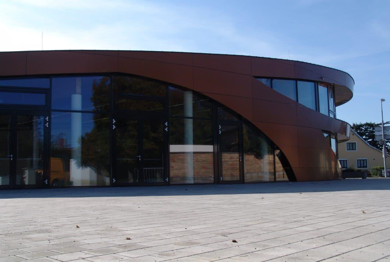 Neubau von einem Kulturhaus
