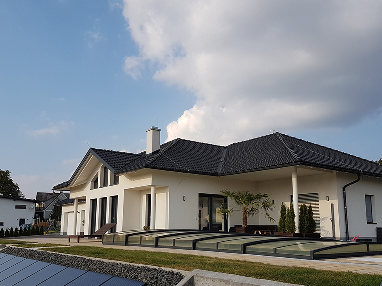Neubau Massivhaus Bungalow