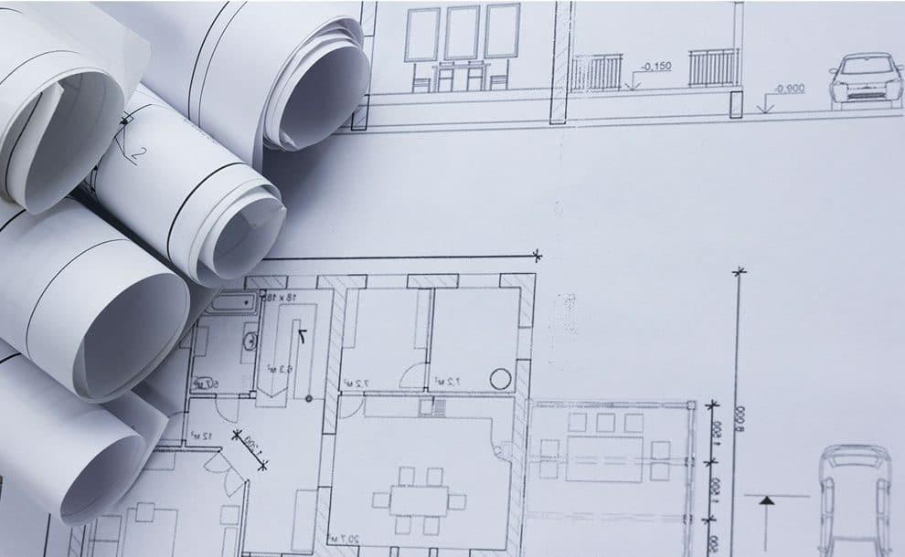 Einreichplan für Einfamilienhaus