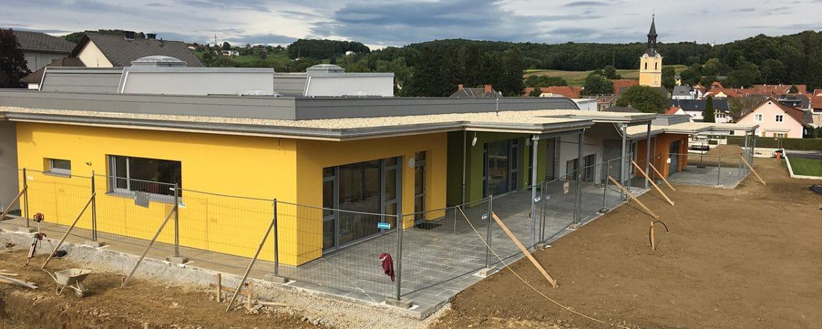 Fertigstellung: Neubau Kindergarten und Kinderkrippe in Grafendorf