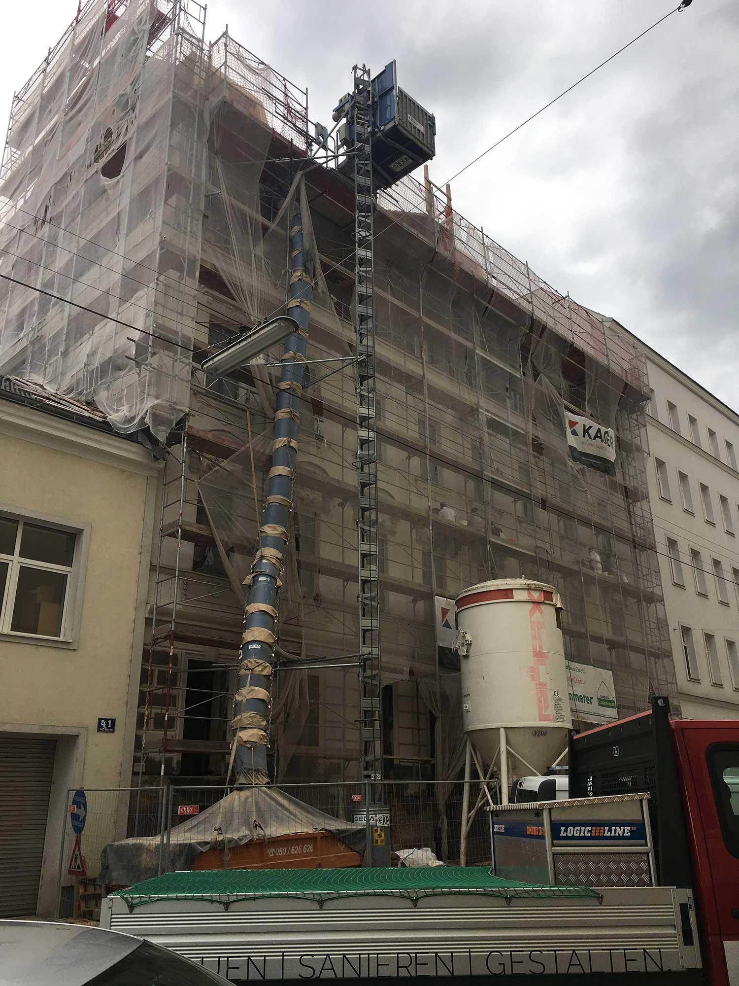 Um-und Zubau in Wien