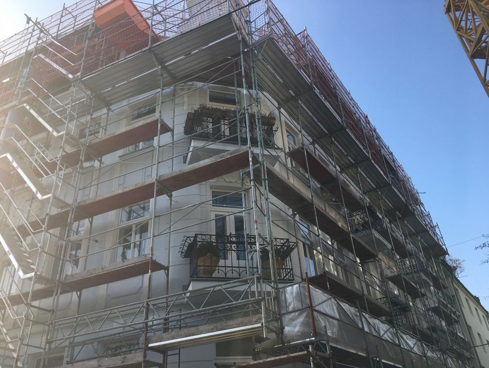 Bäckenbrünnlgasse Wien Umbau