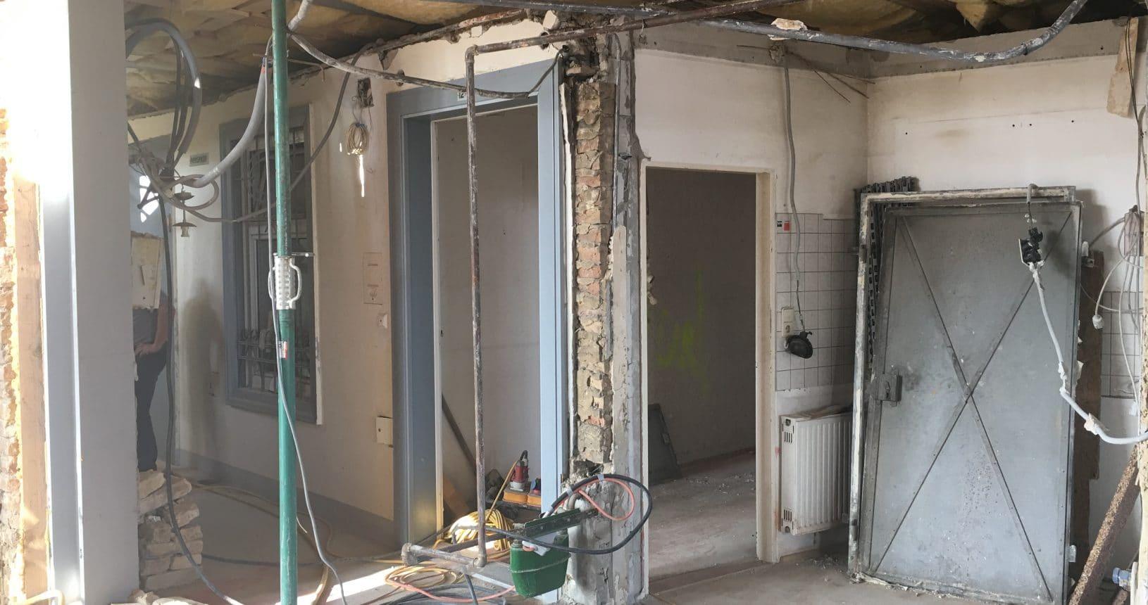 Umbau in der Backbrunngasse