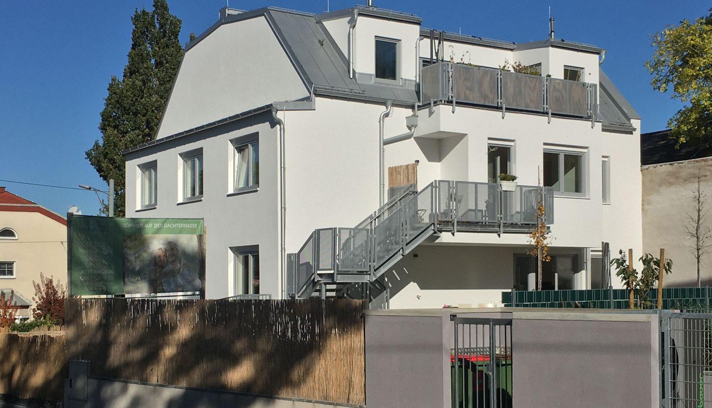 Fertigstellung Wohnhaus Wien