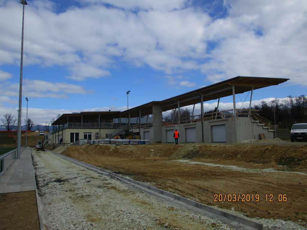 Neues Sportzentrum baut Kager Bau in Vorau