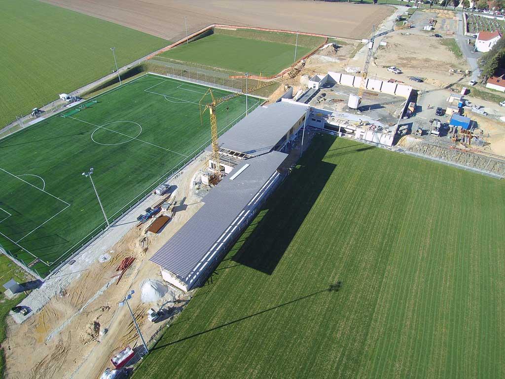 Sportzentrum Vorau - gebaut von Kager Bau