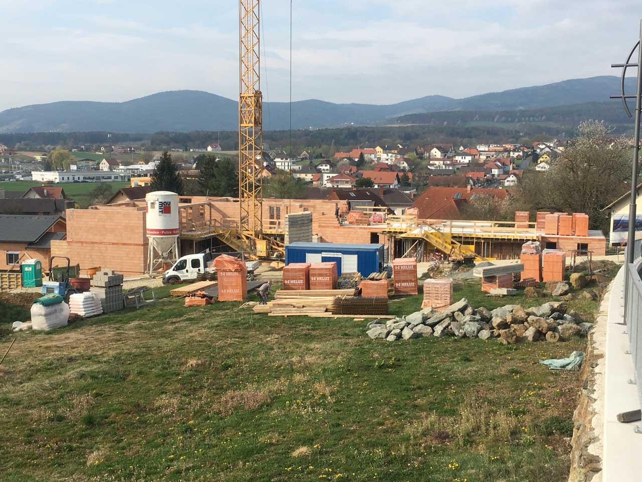 Wohnhausanlage in Grafendorf - von Kager Bau errichtet