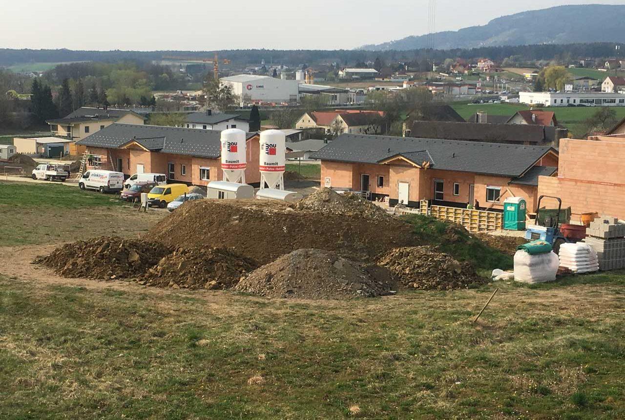 Wohnhausanlage mit Doppelhäsuern in Grafendorf