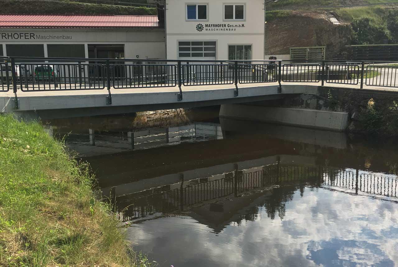 Brückensanierung mit Kager Bau