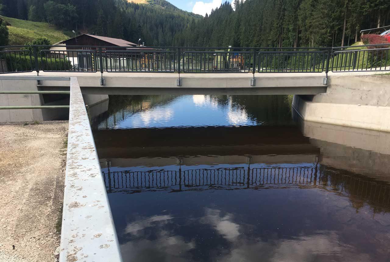 Sanierung einer Brücke durch Kager Bau