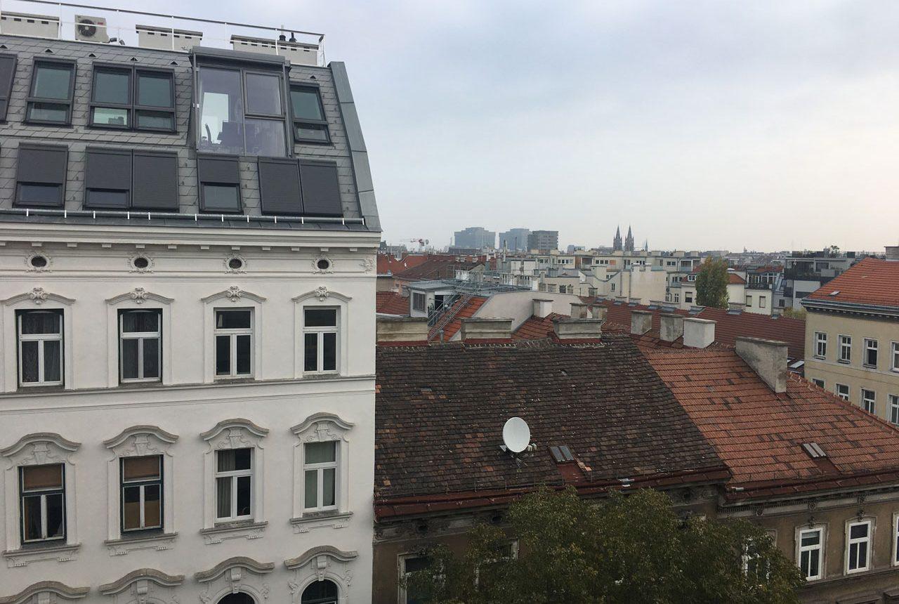 Ausblick Wohnung Wien