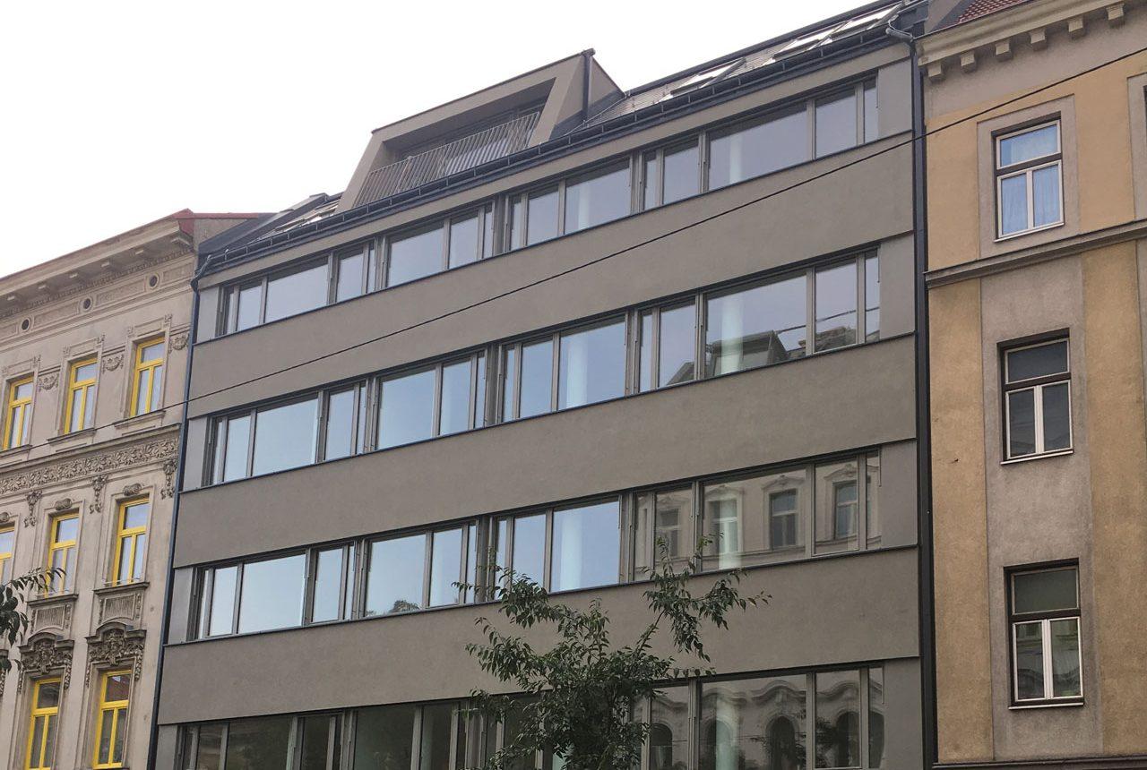 Umbau Geschäftsgebäude Wien