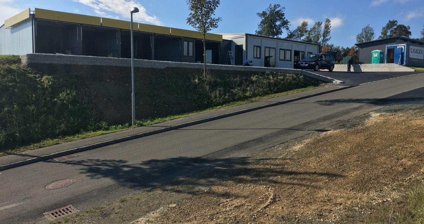 Neubau von Garagen