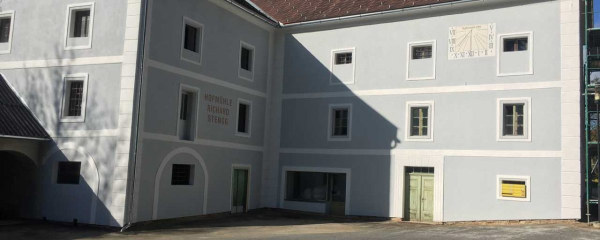 Renovierung Gebäude Vorau